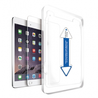 Ipad mini 4 garde en verre trempé transparent avec applicateur