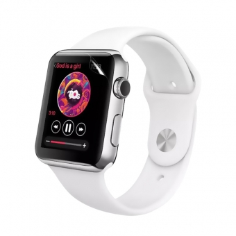 Apple watch series 3 film de protection d'écran flexible nano tpu transparent 38mm