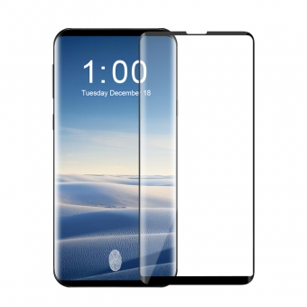 Film de protection d'écran en verre trempé Samsung Galaxy S10 à couverture totale