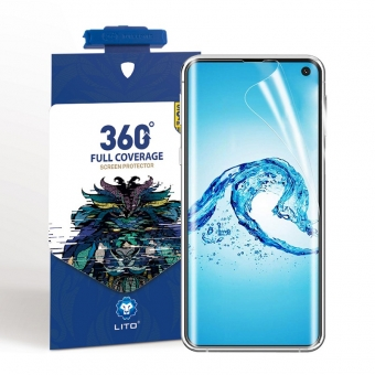 Samsung Galaxy S10 nano tpu protection d'écran complet avec applicateur