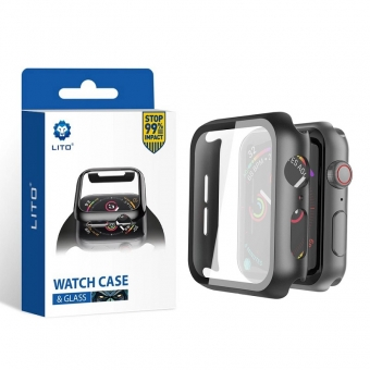 Best LITO S + Full Coverage Touch Sensitive Perfect Protection Watch Case & Watch Screen Protector à vendre
