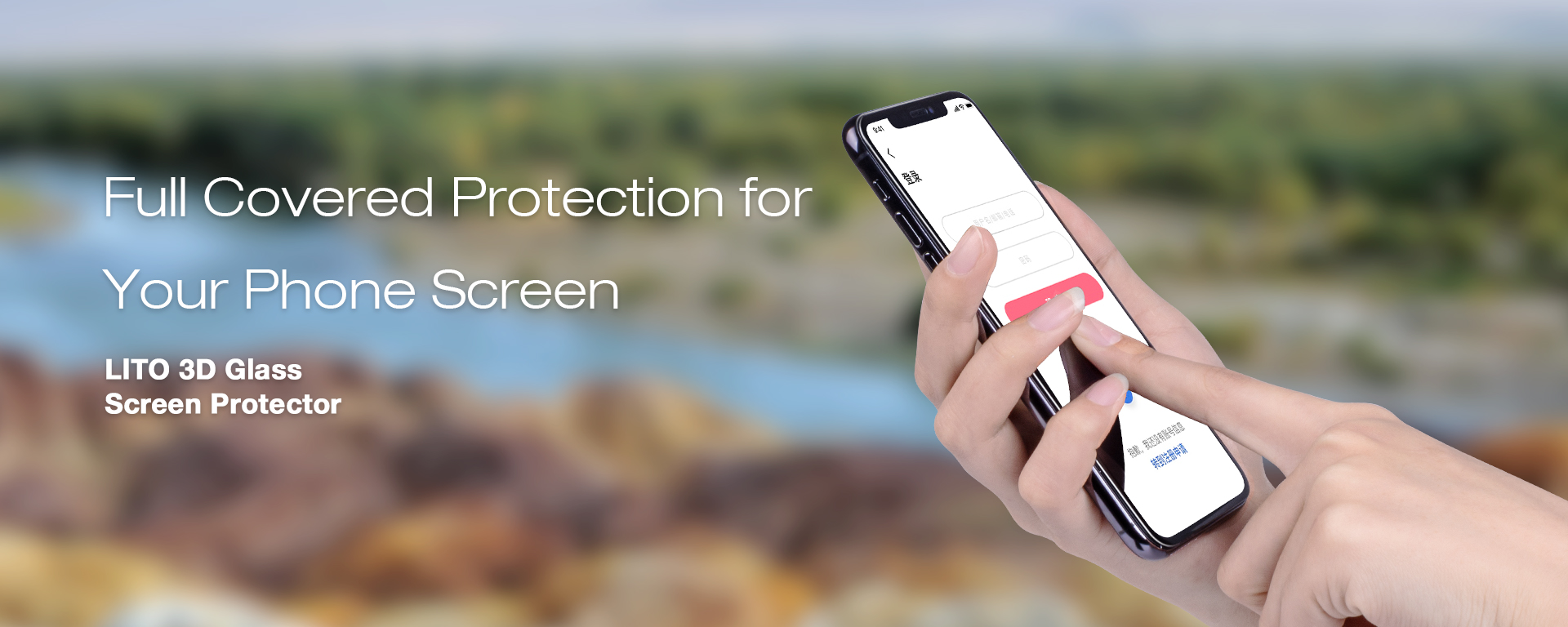 Lito Screen Protector Manufacturer 3D Full Cover Tempered Glass Screen Guard